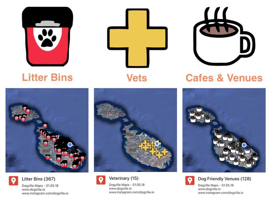 Litter Bins Vets Pet Friendly Cafes Venues