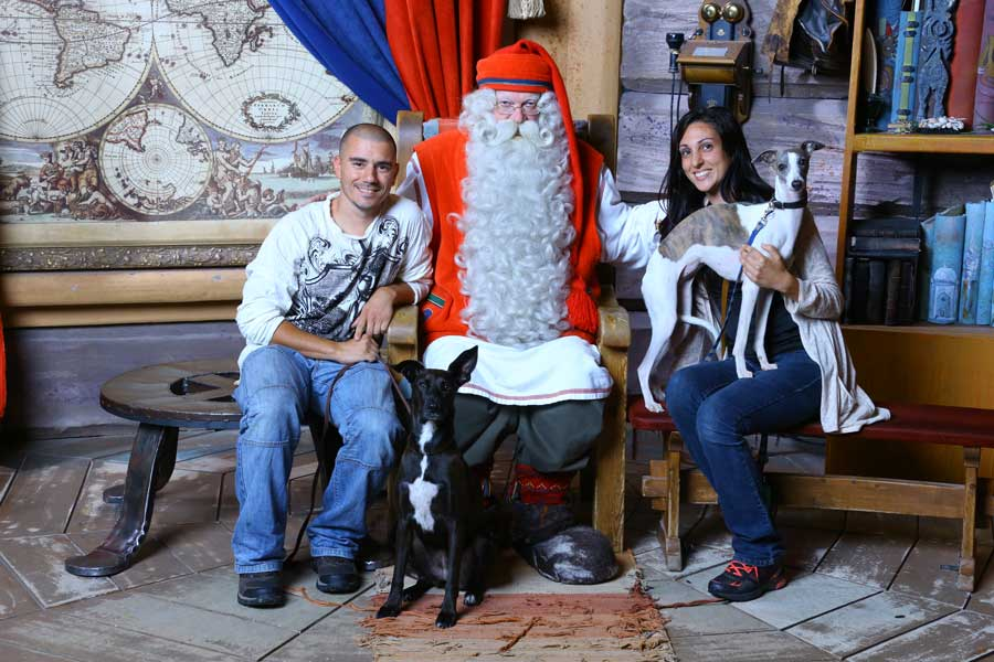 travelling with pets santa claus rovaniemi